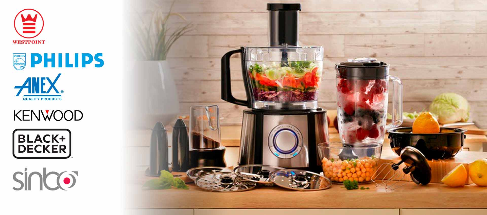 Top 6 Food Processor Brands in Pakistan 2020