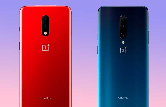 OnePlus 7 and OnePlus 7 pro Back