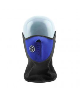 Warm Face Mask Blue