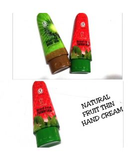 Natural Fruit Thin Hand Cream 1 Pc