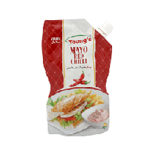 Young's Mayonnaise 200ml Red Chilli