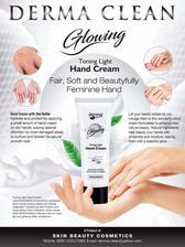 Derma Clean Glowing Hand Cream with Free Delivery