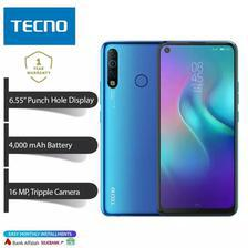 Tecno Camon 12 Air - 64GB ROM + 4GB RAM - 6.55 Punch Hole Display