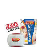 Mayonnaise Pouch - 1Kg with Free Lunch Box