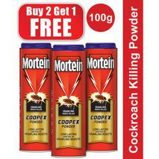 Pack of 3 Mortein Coopex Powder 100g Retail