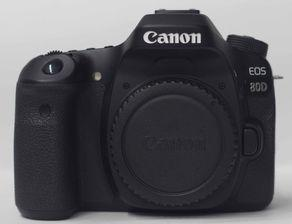 Canon 80D DSLR Camera With 18-55mm Lens (Used)