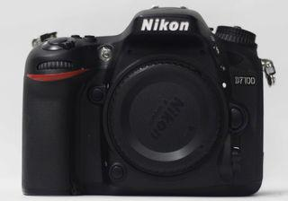 Nikon D7100 DSLR Camera With 18-55mm Lens (Used)