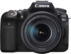 Canon 90D DSLR Camera with 18-135mm Lens