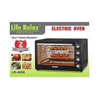 Life relax Electric Toaster & Baking Oven LR4090 90L Black