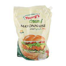 Youngs Creamy Mayonnaise Pouch - 2L