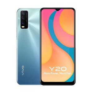 Vivo Y20 | Purist Blue | With Official Warranty