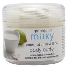 Greenland Bodycare Milky Body Butter Coconut Milk - Lime - 150Ml - MY0052