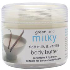 Greenland Bodycare Milky Body Butter Rice Milk - Vanilla - 150Ml - MY0051