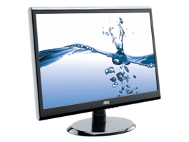 AOC LED Monitor E2450SWHK Wide View 1960 x 1080px 23.6 inches lcdledmonitor