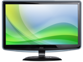 AOC E2240VW LED Monitor UHD Screen 1920 x 1080px / 60Hz 22 inches lcdledmonitor