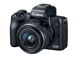 Canon EOS M50 Kit (EF-M 15-45mm) DSLRcameras