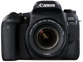 Canon EOS 77D 18-55mm DSLR Camera DSLRcameras