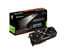 Gigabyte Aorus GeForce GTX 1080 Ti 11G Graphics Card desktopgraphiccards