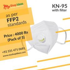 KN95 Mask With Filter pack of 5