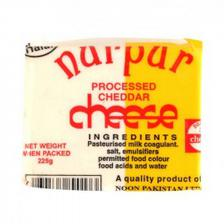 Nurpur Cheese Cheddar Block 225GM