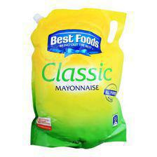 Best Foods Classic Mayonnaise, 4 Liters
