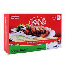 K&N's Chicken Seekh Kabab, 7-Pack