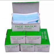 Pack of 50 Pcs Surgical Face Mask