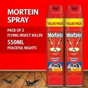 Pack of 2 - Mortein Peaceful Nights Spray - 550ml