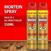 Pack of 2 - Mortein All Insect Killer - 550ml